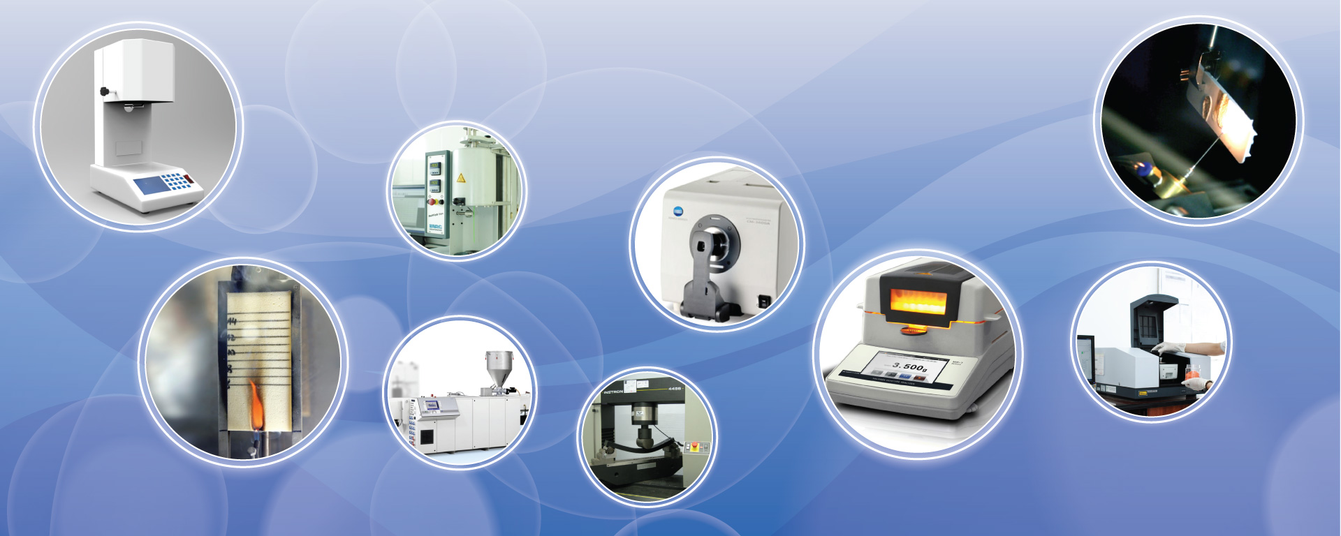 Machinery & Testing Equipments